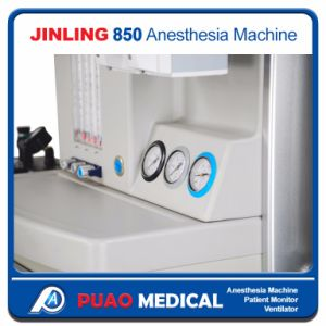 General Surgery Instruments with 2 Vaporizer Anesthesia Machine Jinling-850 pictures & photos