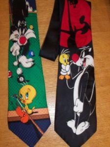 Wholesale Looney Tunes Cartoon School Ties (A788) pictures & photos