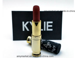 Frosted Luxury Box Package 12 PCS/Box Kylie Charm Lipstick New Arrival Cosmetic Lipsticks pictures & photos