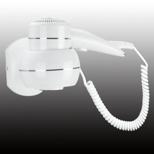 Newest White Home Appliance Wall Mounted Hair Dryer & Household & Hotel bathroom pictures & photos