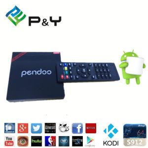 2016 Hot P&Y Pendoo Minix PRO Kodi TV Box Amlogic S912 2g 16g Kodi 17.0 Android6.0 TV Box pictures & photos
