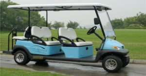 Cheap 6 Seat Electric Sightseeing Car for Tourist Resort pictures & photos