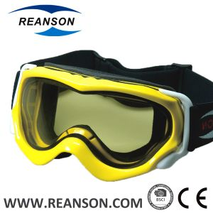 Reanson Professional Windproof Double Lenses Snow Mobile Goggles pictures & photos