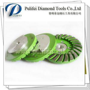 Aluminum Snail Backer Diamond Metal Abrasive Pad pictures & photos