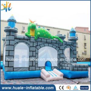 Kids Toys Jumping Castle, Inflatable Castle with Slide for Kindergarten