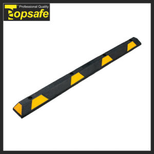 (S-1506) Rubber Wheel Stop for Car Parking pictures & photos