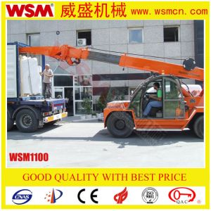 Wsm1100 Diesel Crane for Handling Marble Slab Unloading Container 10 Tons pictures & photos