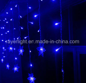 Wholesale Christmas Window Decoration LED Curtain Light with Star pictures & photos