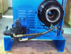 """Manual/Hand Pump Portable 1"""" Inch High Pressure Hydraulic Hose Crimping Machine Ce Approval/Patent (JKS160) pictures & photos"""