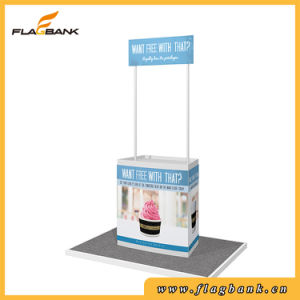 Advertising ABS Portable Promotion Counter Display, Pop up Counter pictures & photos