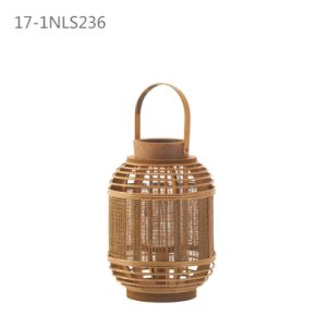 Fashion Antique Unique with Handle of Special Bamboo Lanterns pictures & photos