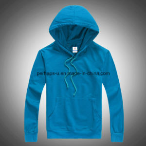 Fashion Pure Color Men Sweatshirts Long Sleeve Hoodie Apparel pictures & photos