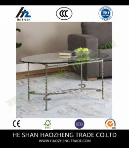 Hzct122 Cutler Coffee Table Wooden Top Metals Legs pictures & photos