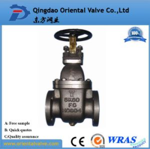 Cast Steel Gate Valve European Stock, Ce, API, ISO, Dn40 pictures & photos