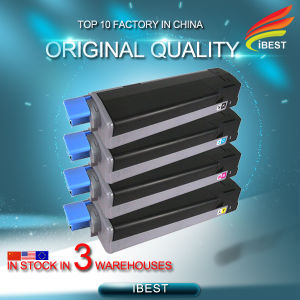 Original Remanufactured Compatible for Oki C5650 C5750 Toner Cartridge 43872308b 43872307c 43872306m 43872305y