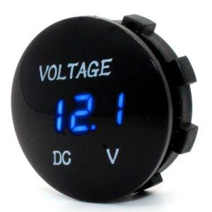 Universal Digital Display Voltmeter Waterproof Voltage Meter LED for DC 12V-24V Car Motorcycle Auto Truck Volt Tacho Gauge pictures & photos