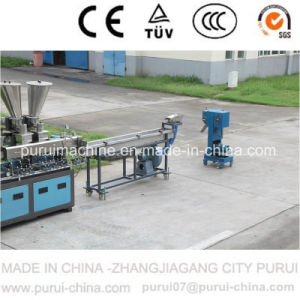 Lab Plastic Polymer Parallel Co-Rotating Twin Screw Extruder pictures & photos