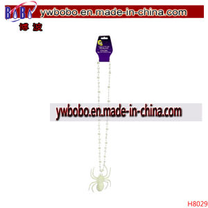 Glow in The Dark Halloween Necklaces Garment Clothing Accessories (H8029) pictures & photos