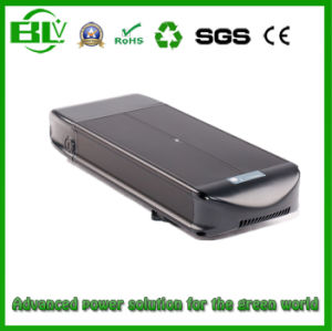 48V20A Battery Pack Power Supply for E-Bike Flat Type with 18650 Rechargeable Lithium Ion Battery pictures & photos