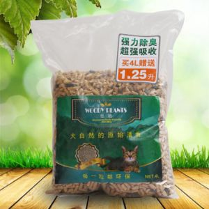 Nature Pine Wood Cat Litter--Green Tea Scent pictures & photos