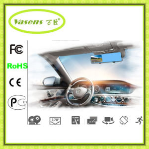 Dual Lens Car Dvrs Dashcam Recorder Review Mirror DVR pictures & photos