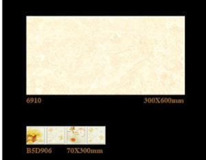 300X600mm Inkjet 6D Interior Wall Tile Porcelain Tile for Home Decoration pictures & photos
