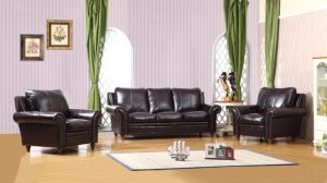 Living Room Furniture Sofa with Italian Leather Sofa Set for Home Furniture, Modern Sofa pictures & photos
