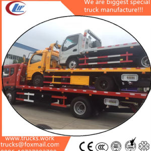 Dongfeng Used Trucks Second Hand Trucks Repro Towing Flatbed Tow Truck pictures & photos