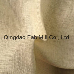 100% Linen Woven Fabric (QF13-0979) pictures & photos