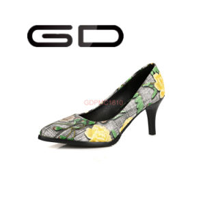 Fabric Printing Ladies Shoes Elegant Shoes South Africa Flower Shoes