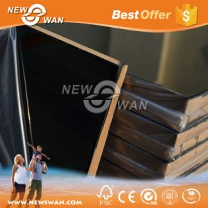 Single Side Black Color 16mm UV MDF pictures & photos