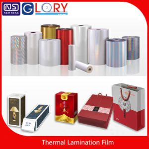 Pet/BOPP Multicolor Metallized Thermal Lamination Films with High Quality pictures & photos