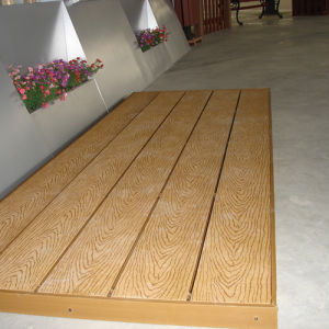 Direct Factory Outdoor Wood Plastic Composite Decking pictures & photos