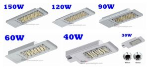 Best Price HID LED Retrofit 250 Watt 3000k Replacement 40W LED Street Light Housing pictures & photos