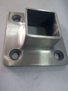 Stainless Steel Square Post Base Plate pictures & photos
