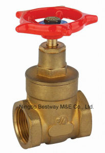 Bronze Material Gate Valve with Handle Wheel pictures & photos