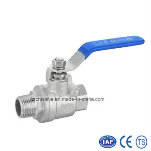 2PC Male-Female Thread Ball Valve pictures & photos