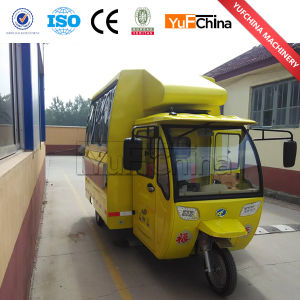 Good Quality Stainless Steel Electric Tricycle Cart for Selling Food pictures & photos