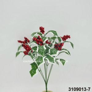 Artificial/Plastic Christmas Berries Bush (3109013-7) pictures & photos