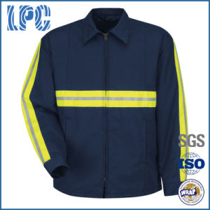OEM Technician Enhanced High Visibility Reflective Cotton Work Clothing pictures & photos