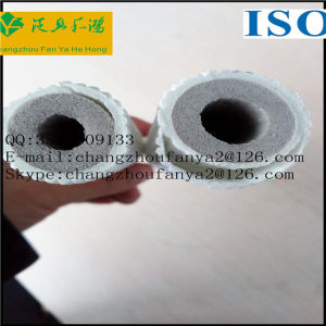 Embossing Heat Preservation Cotton Tube/Air Conditioning Insulation Pipes pictures & photos
