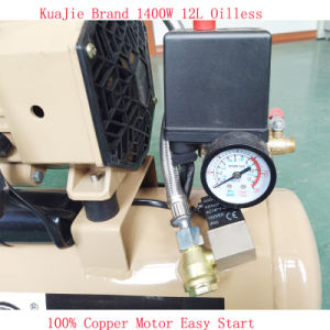 12L Kuajie New Brand Mini Portable Piston Air Compressor pictures & photos