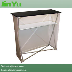 Pop up Fabric Display Counter Display Stand pictures & photos