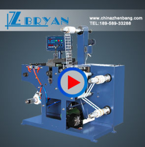 Cheap Price Label Slitting Machine with Rotary Die Cutting Station pictures & photos