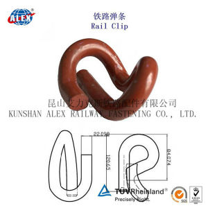 Black Painted Elastic Rail Clip for E 2055 1609 Type System pictures & photos