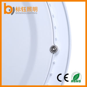 Factory Round Slim LED Panel Ceiling Light (Warm/Pure/Cool White Light Color 3000-6500k 1080lm OEM/ODM) pictures & photos
