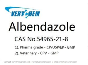 High Purity Veterinary Pharmaceutical Albendazole (CAS 54965-21-8) pictures & photos