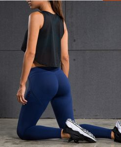 2016 High Quality Yoga Pants, Women Sports Fitness Yoga Pants pictures & photos