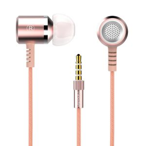 3.5mm Wired Stereo Promotion Pink Earphone pictures & photos