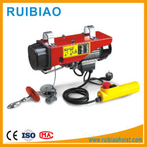 PA1000 Mini Type Wire Rope Small Electric Motors Hoist pictures & photos